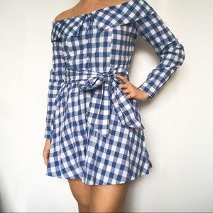 L'ACADEMIE x REVOLVE Off the Shoulder Dress